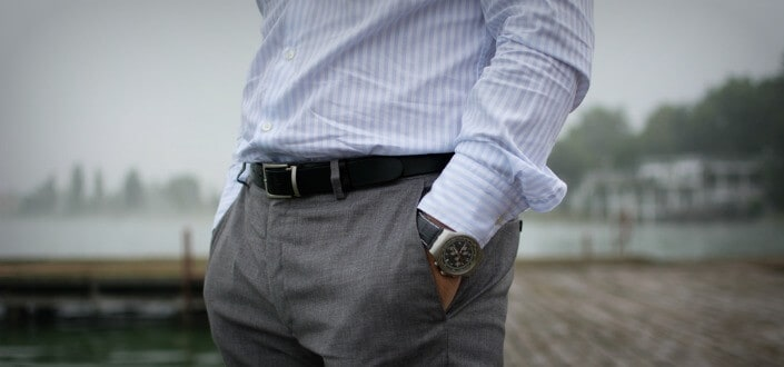style rules - match watch + belt