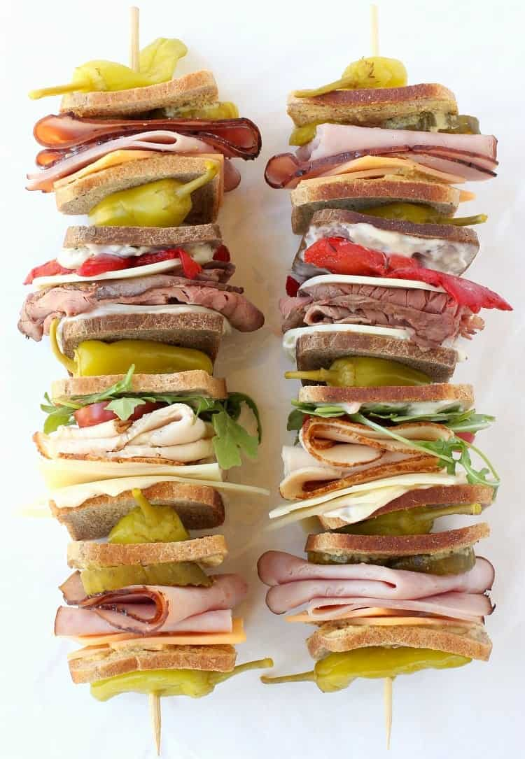 Club Sandwich Kabobs Mantitlement