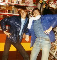 Einar og Kjell pa Kastellet