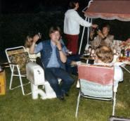 Fest i hagen til Sverre