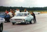 V8 Opel dragrace