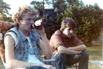 Jan Petter og Thomas Myrvoll