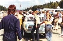 Rune N Einar, Atle, Sverre K, Gjør klar til start