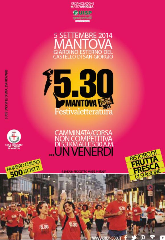 530 Run Mantova 2014 speciale Festivaletteratura
