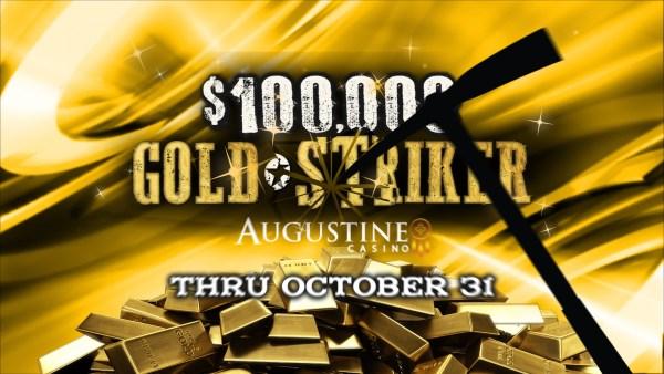 Augustine Casino - Gold Stiker