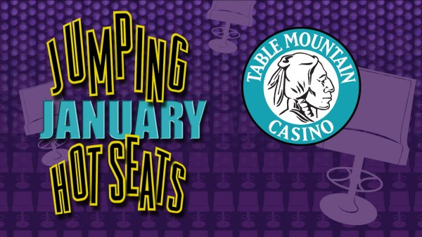 Table Mountain Casino - Jumping January Horizontal
