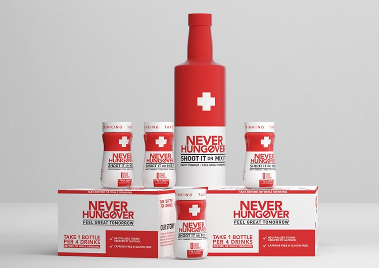 Never Hungover - it's more than just a Wish. it's a mission! Drink Before Partying and Feel Better Tomorrow
