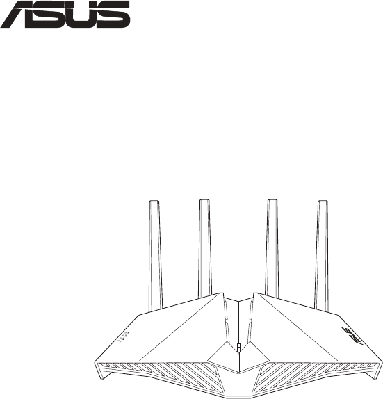 User manual Asus RT-AX82U (208 pages)
