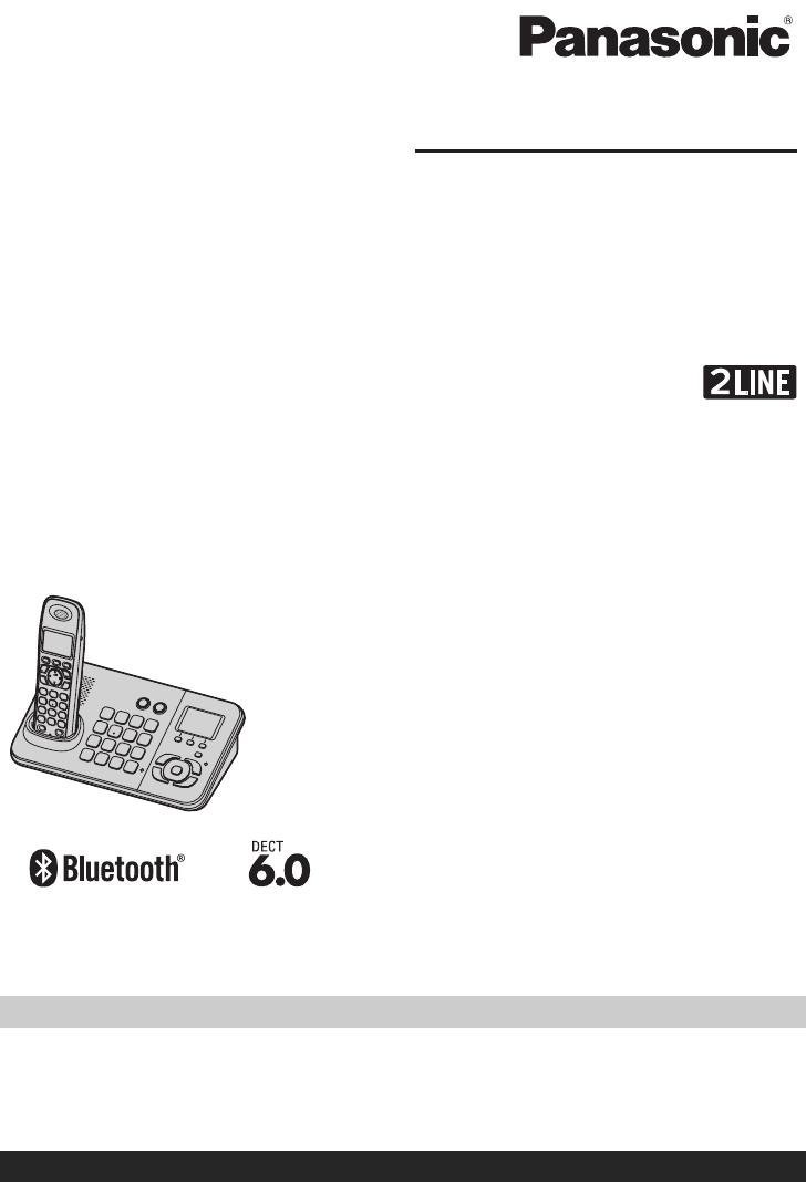 User manual Panasonic KX-TG9382T (72 pages)