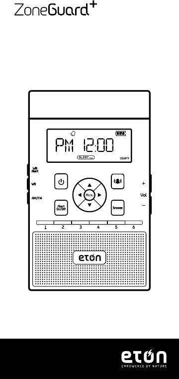 User manual Eton ZoneGuard Plus (48 pages)