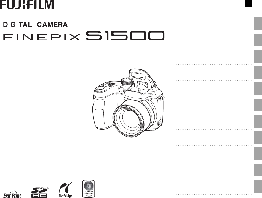 User manual Fujifilm FinePix S1500 (132 pages)