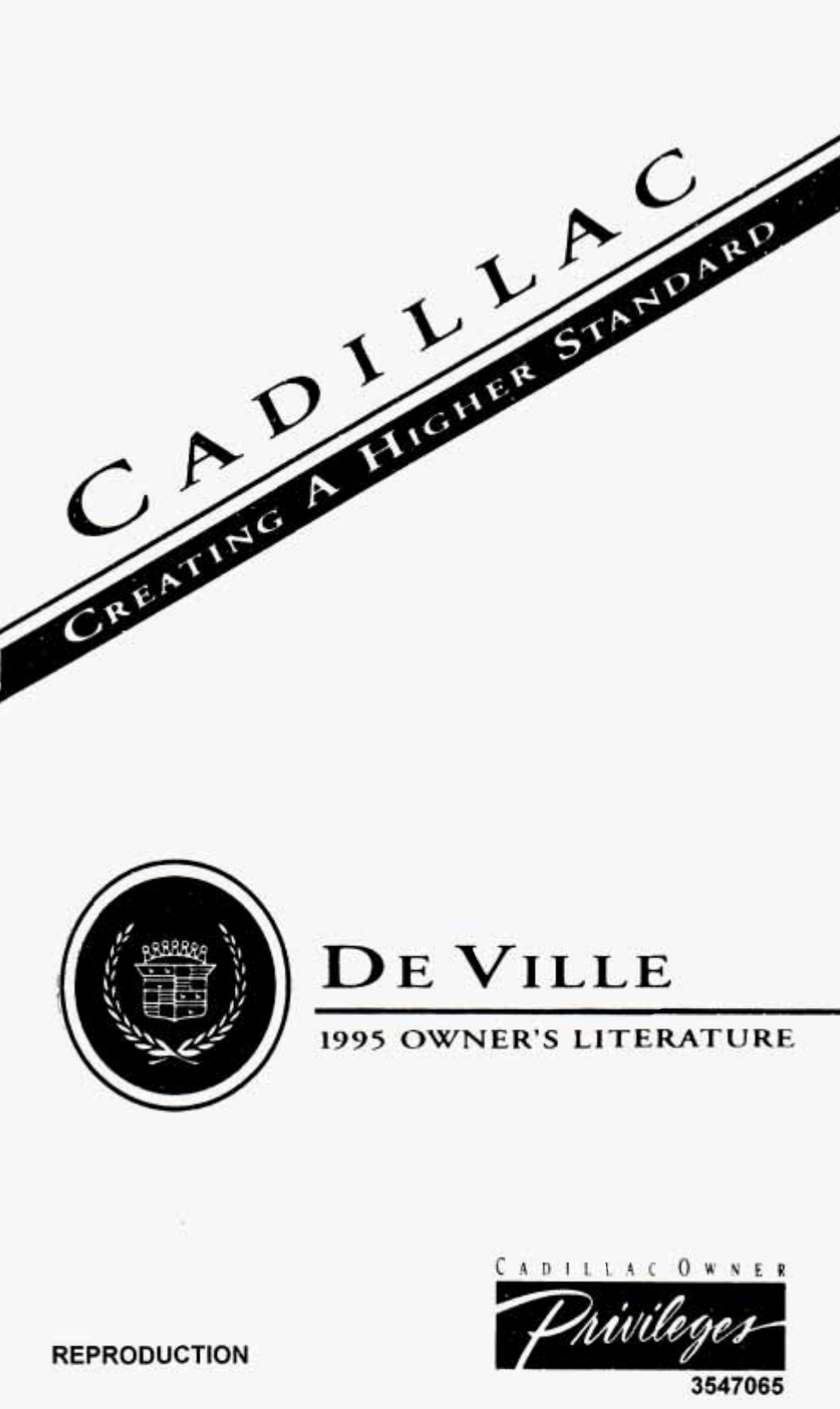User manual Cadillac Deville (1995) (403 pages)