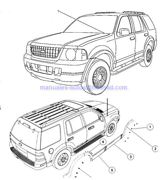 Manual de Reparacion Mecanica Ford Explorer 2008 2009 2010