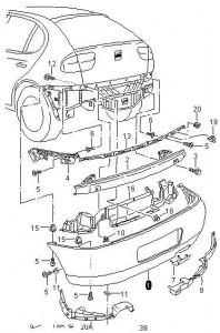 Manual Catalogo Despiece Pointer Jetta Bora Vocho Polo
