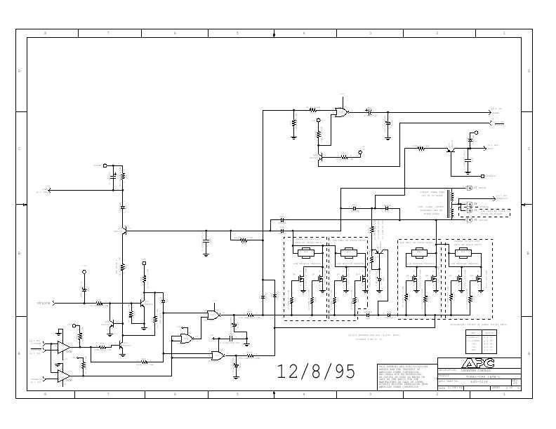 Сервисная инструкция APC BACK-UPS-PRO-280, 420, 650 (схема