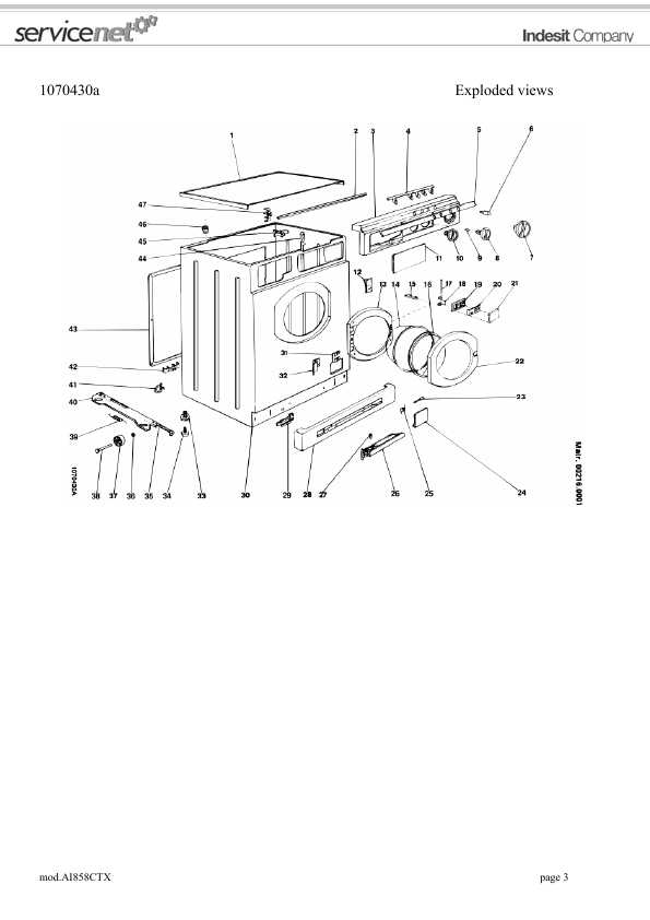 Сервисная инструкция Ariston AI-858CTX ― Manual-Shop.ru