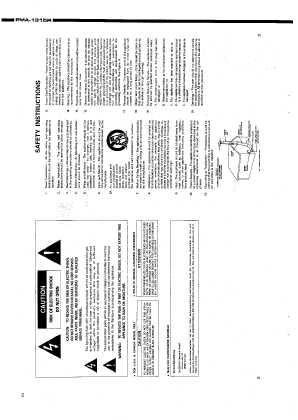 Сервисная инструкция Denon PMA-1315R, PMA-1315RG ― Manual
