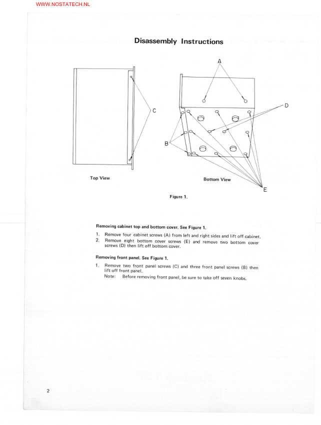 Сервисная инструкция NEC AUA-8300E ― Manual-Shop.ru