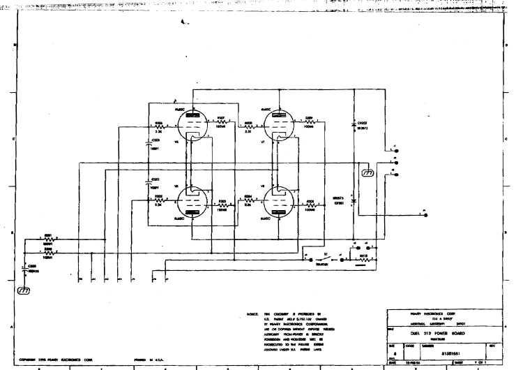 Сервисная инструкция Peavey DUEL 212 ― Manual-Shop.ru