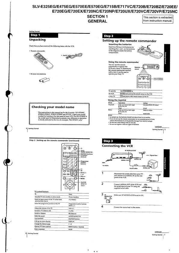 Сервисная инструкция Sony SLV-E325, SLV-E475, SLV-E570EE
