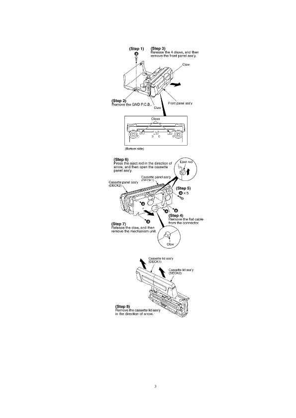 Сервисная инструкция Technics RS-DV290 ― Manual-Shop.ru