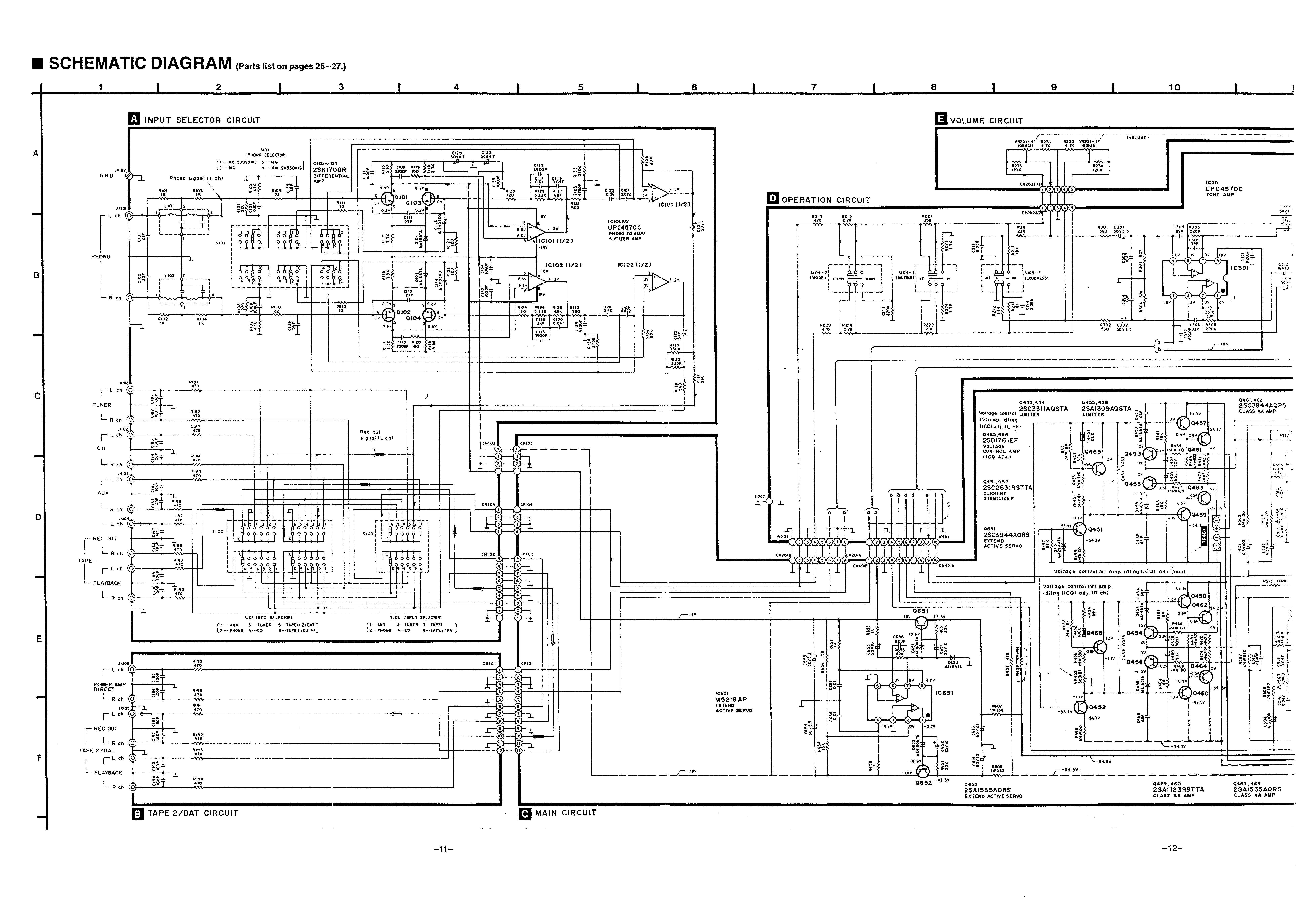 Сервисная инструкция Technics SU-VX700 ― Manual-Shop.ru
