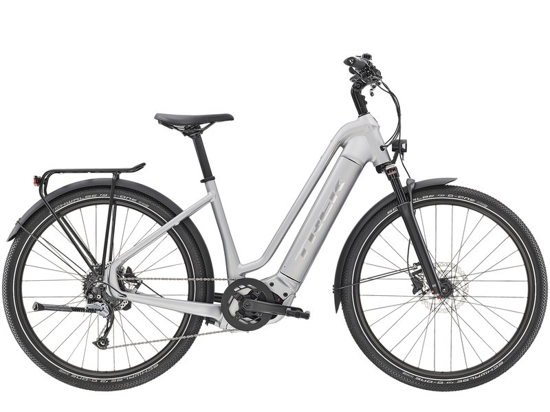 Trek Allant+ 7 Lowstep 2020 (Silver) from Manual Bikes