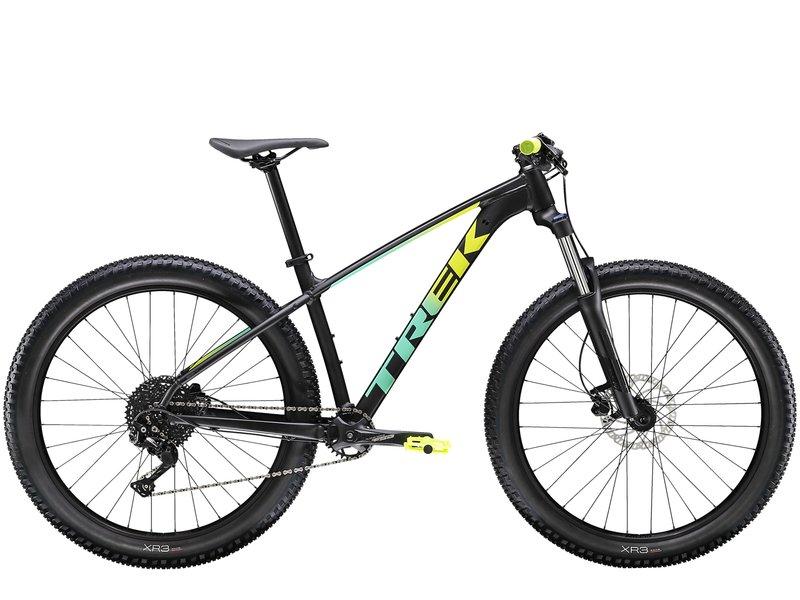 Trek Roscoe 6 2020 (Black-Green) from Manual Bikes