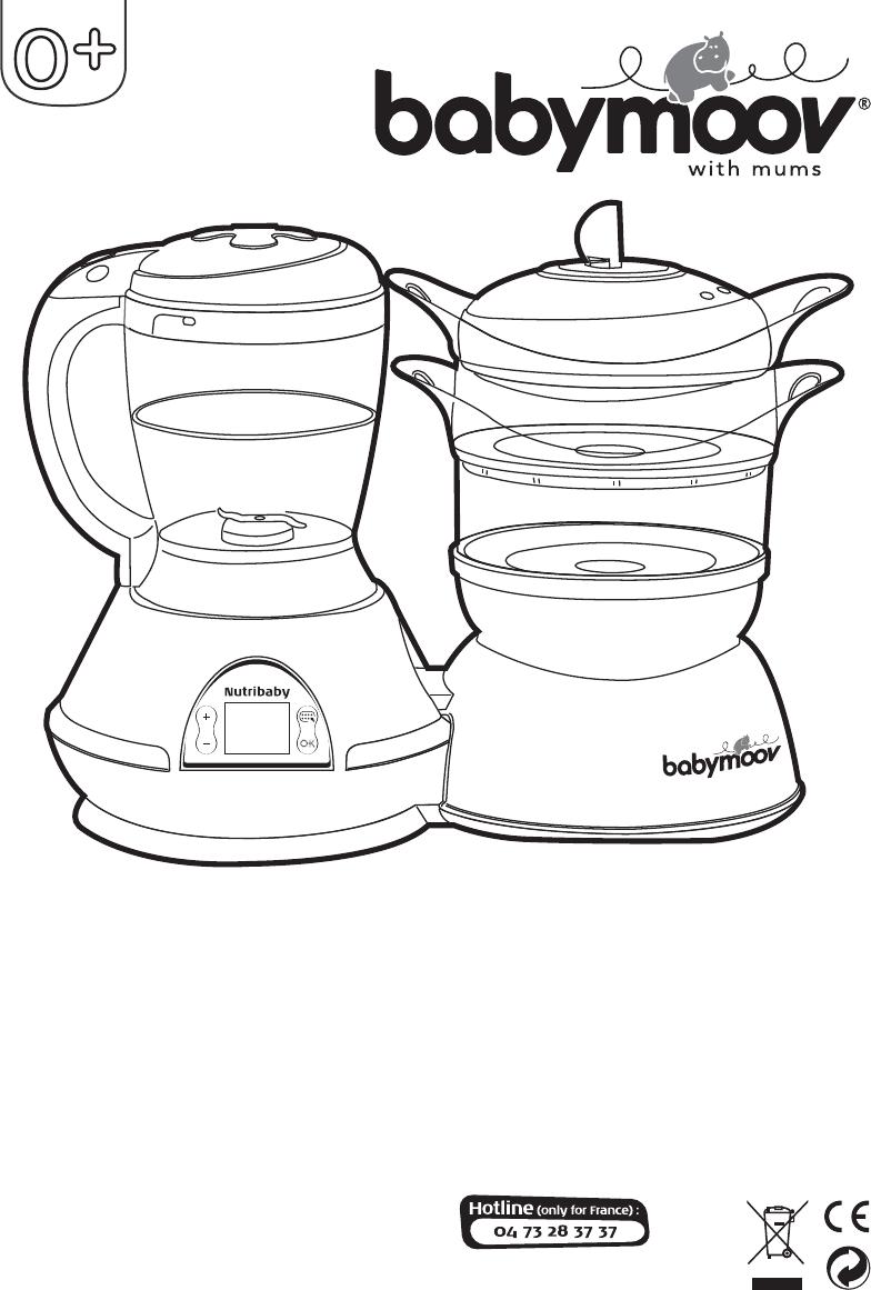 Manual de utilizare Babymoov NutriBaby A001100 (68 pagini)