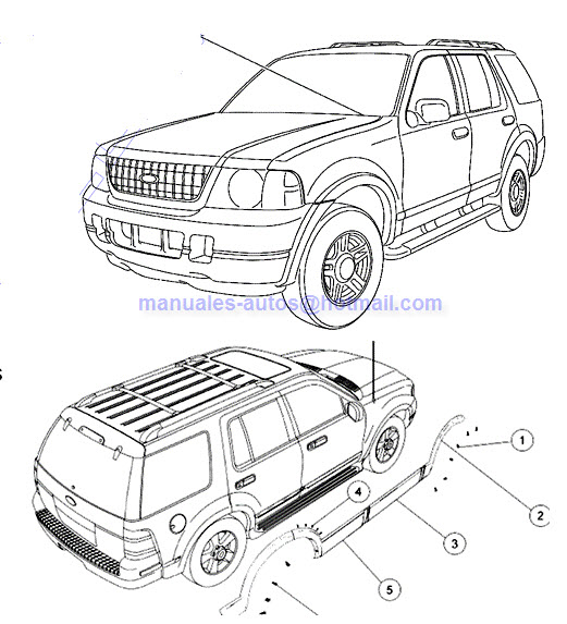 Manual de Mecanica y Servicio Ford Explorer 2003 2004 2005