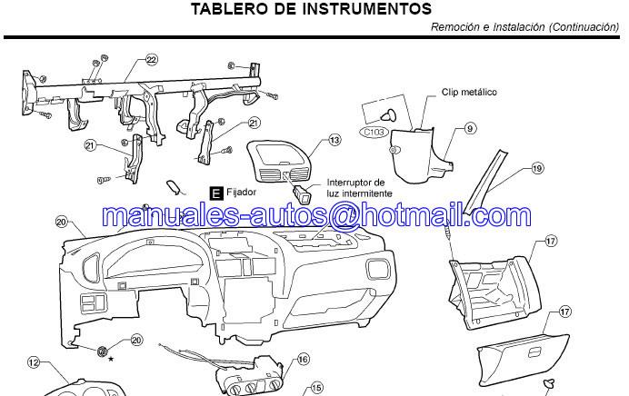 Manual de Reparacion Nissan Sentra 1998