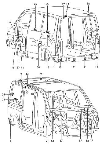 Eurovan Transporter 2001 2002 2003 Manual De Reparacion