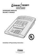 Linear DVS-2400 manuali