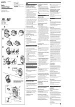 Sony WM-FS555 manuali