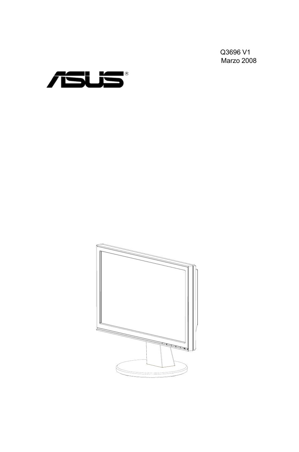 Схема монитора Асус VW193D
