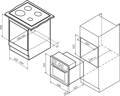 Manuale Bompani BO247SM/E (64 pagine)