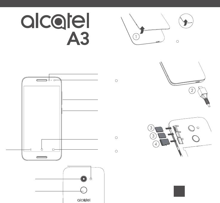 Manuale Alcatel A3 5046I (8 pagine)