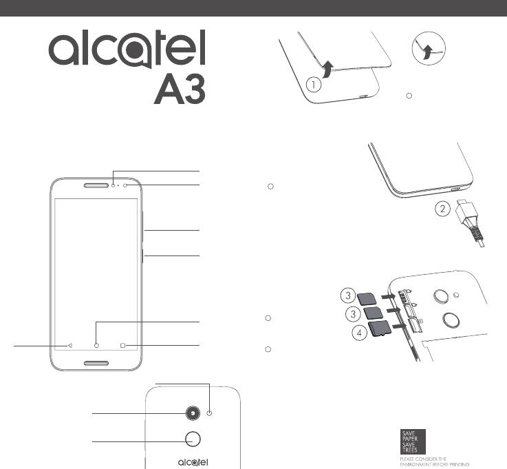 Manuale Alcatel A3 5046D (8 pagine)