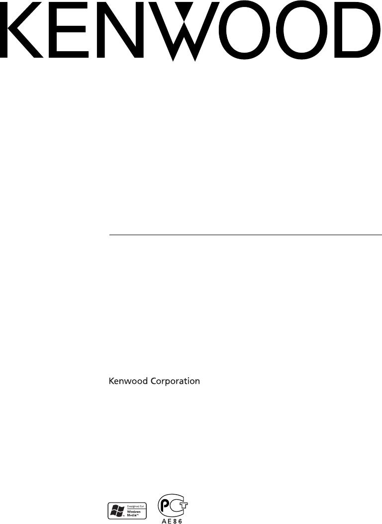 Manuale Kenwood KDC-W311 (136 pagine)