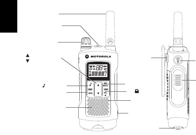 Manuale Motorola TLKR-T80 Extreme (176 pagine)