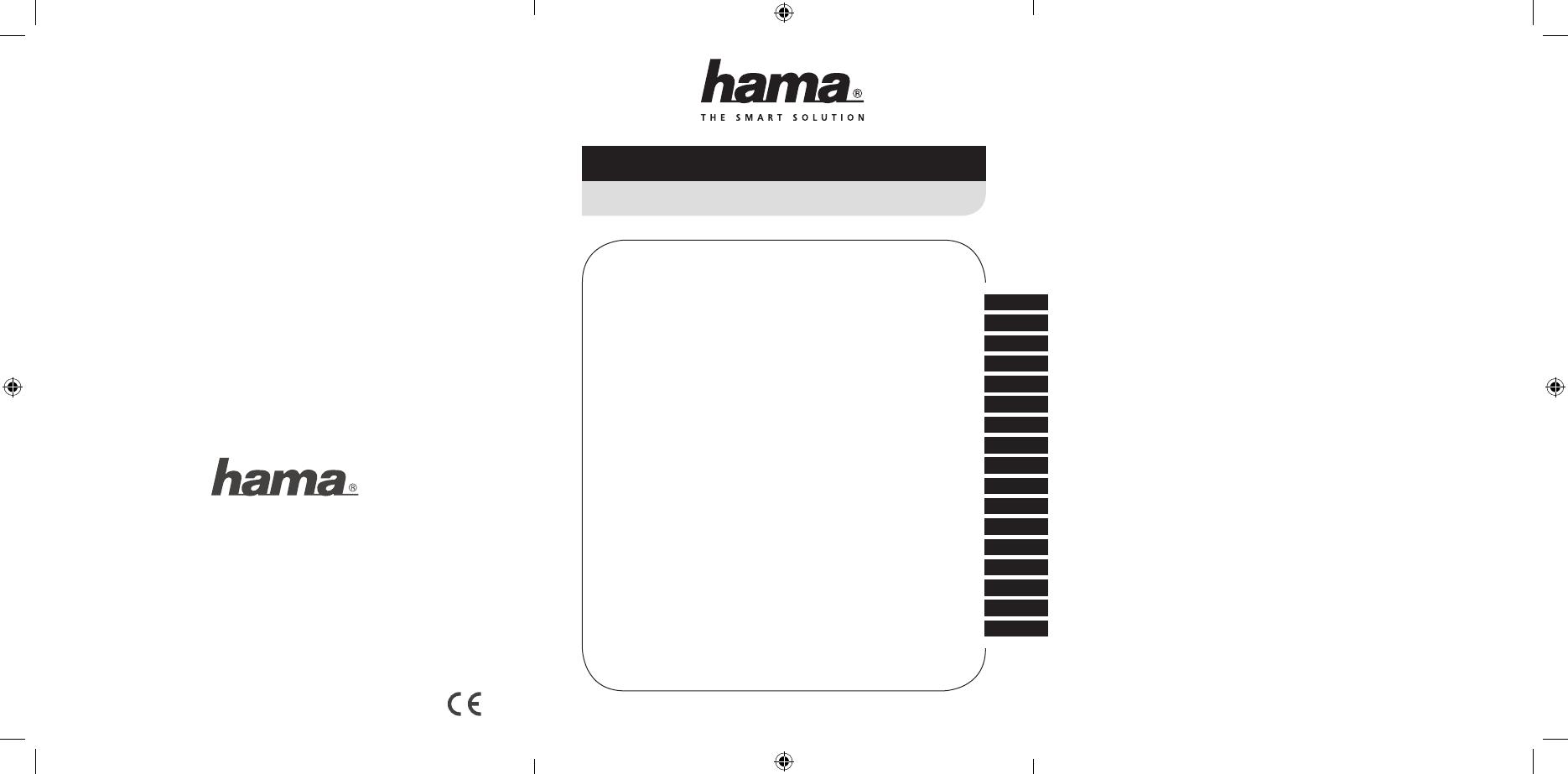 Manuale Hama 00011413 8in1 (44 pagine)