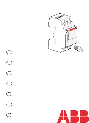 Manuale ABB System Pro M DT1 (64 pagine)