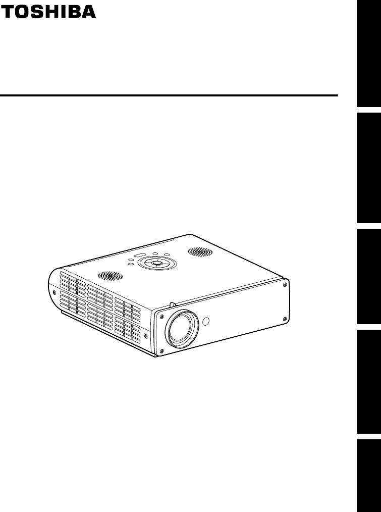 Manuale Toshiba TDP-TW90 (37 pagine)