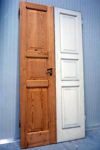 Verniciare Porte In Legno.Colorare Porte Di Legno Come Fare Una Porta In Legno