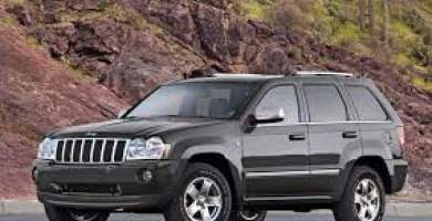 Manual Jeep Grand Cherokee 2008 de Propietario