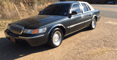 Manual Ford Grand Marquis 1999 Reparación y Servicio