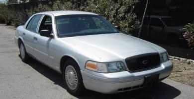 Manual Ford Crown Victoria 1999 Reparación y Servicio