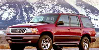Manual Ford Mountaineer 1998 Reparación y Servicio