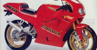 Manual Moto Cagiva Cocis 125 1990 Reparacion y Servicio