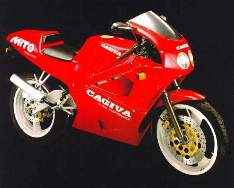 Manual Moto Cagiva Mito 125 1990 Reparacion y Servicio